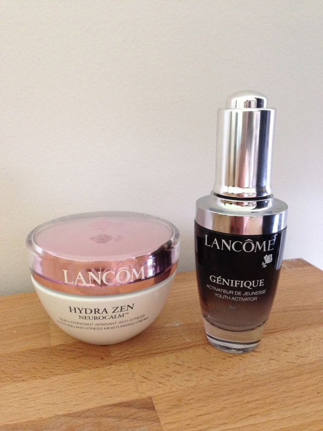 Lancome Hydra Zen and Genifique