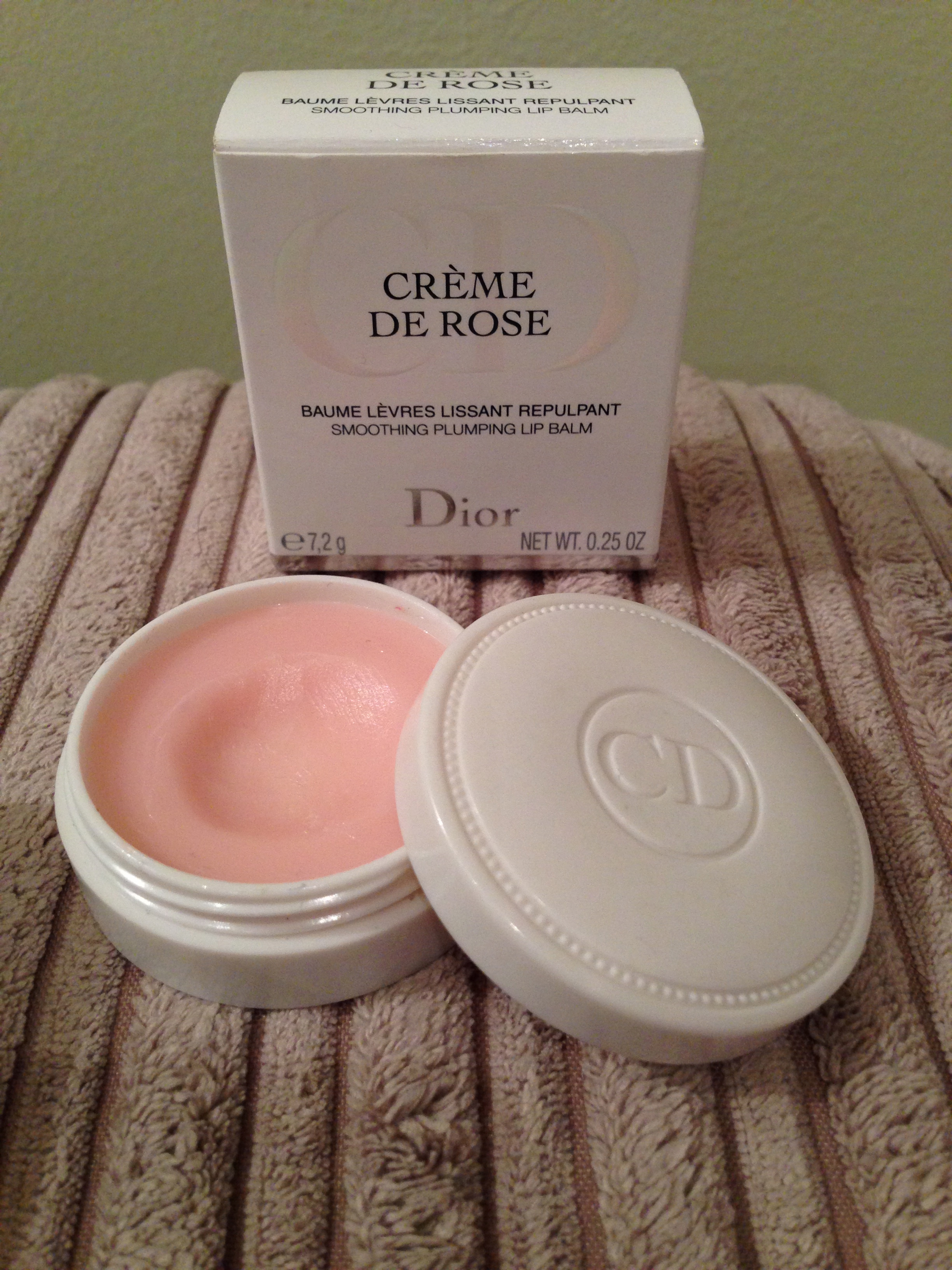 Creme De Rose Smoothing Plumping Lip Balm by Dior #18